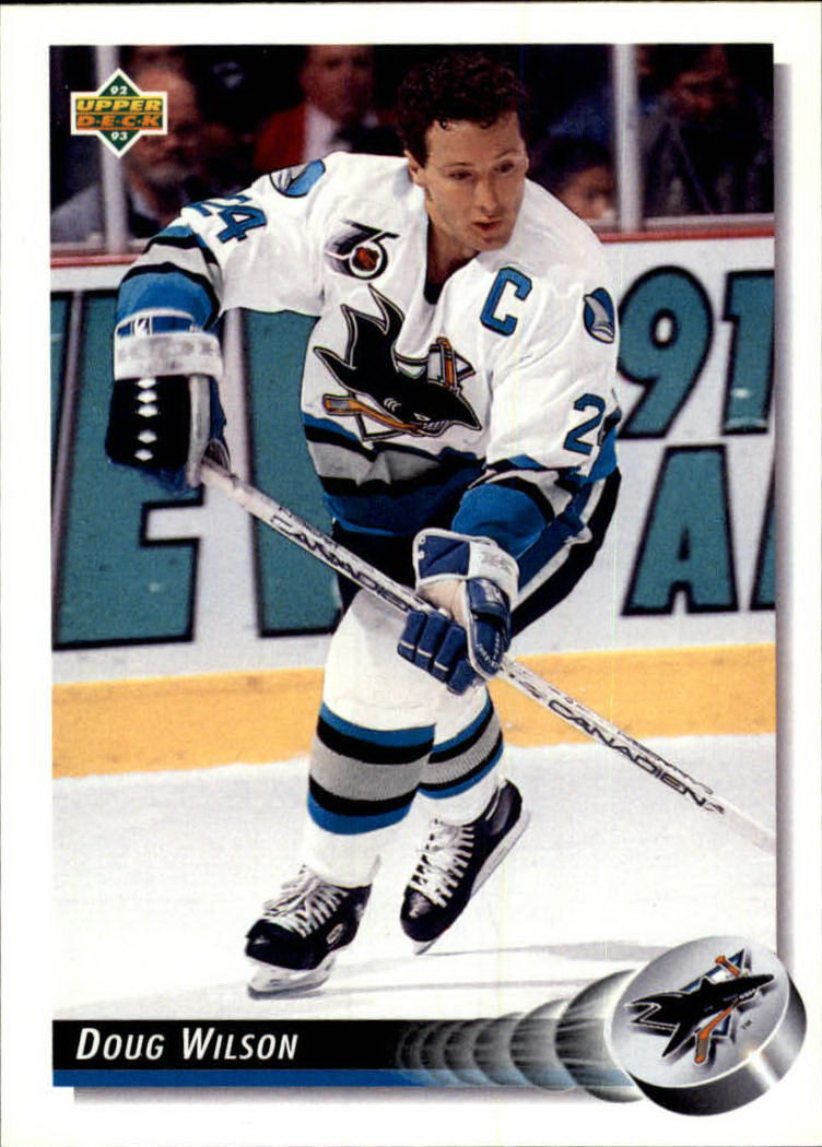 1992-93 Upper Deck #150 Doug Wilson