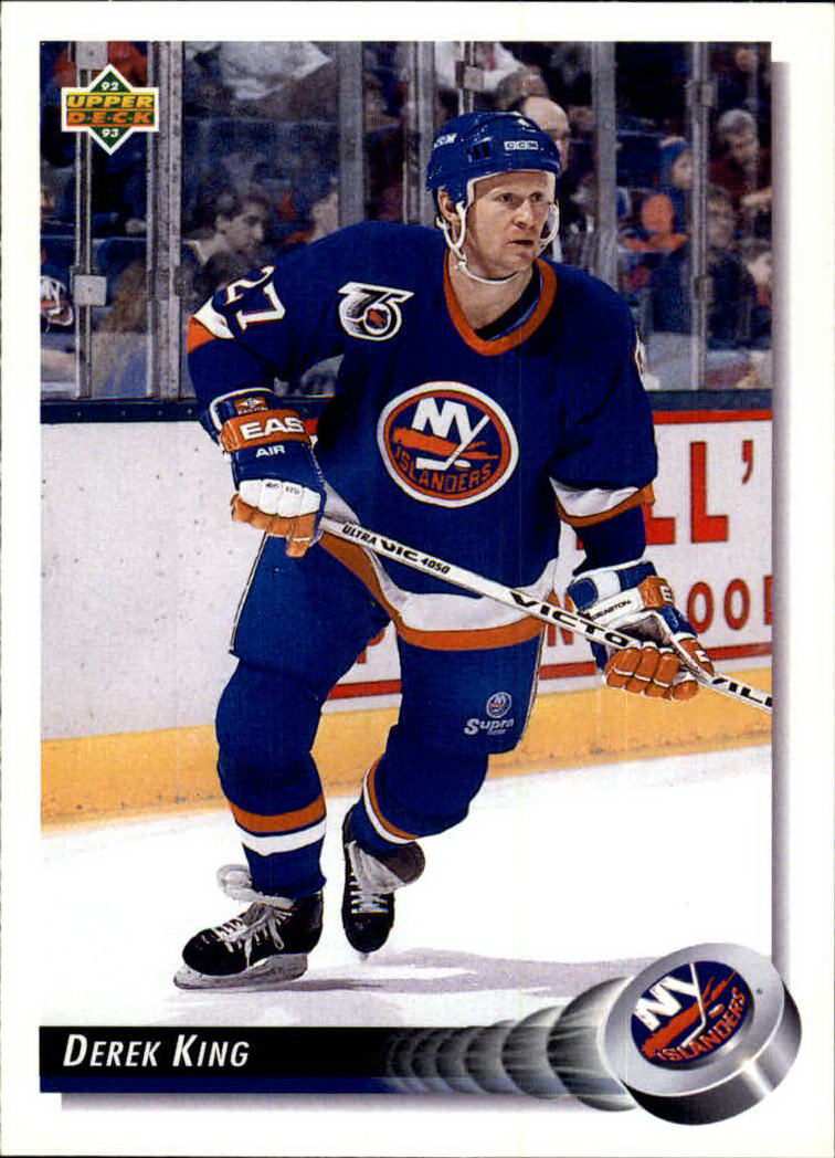 1992-93 Upper Deck #191 Derek King