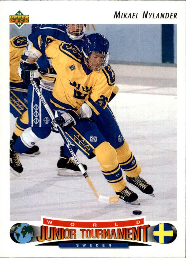 1992-93 Upper Deck #236 Michael Nylander RC