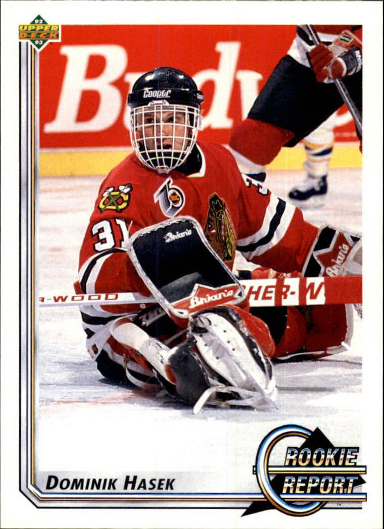 1992-93 Upper Deck #366 Dominik Hasek RR