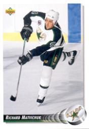 1992-93 Upper Deck #505 Richard Matvichuk RC