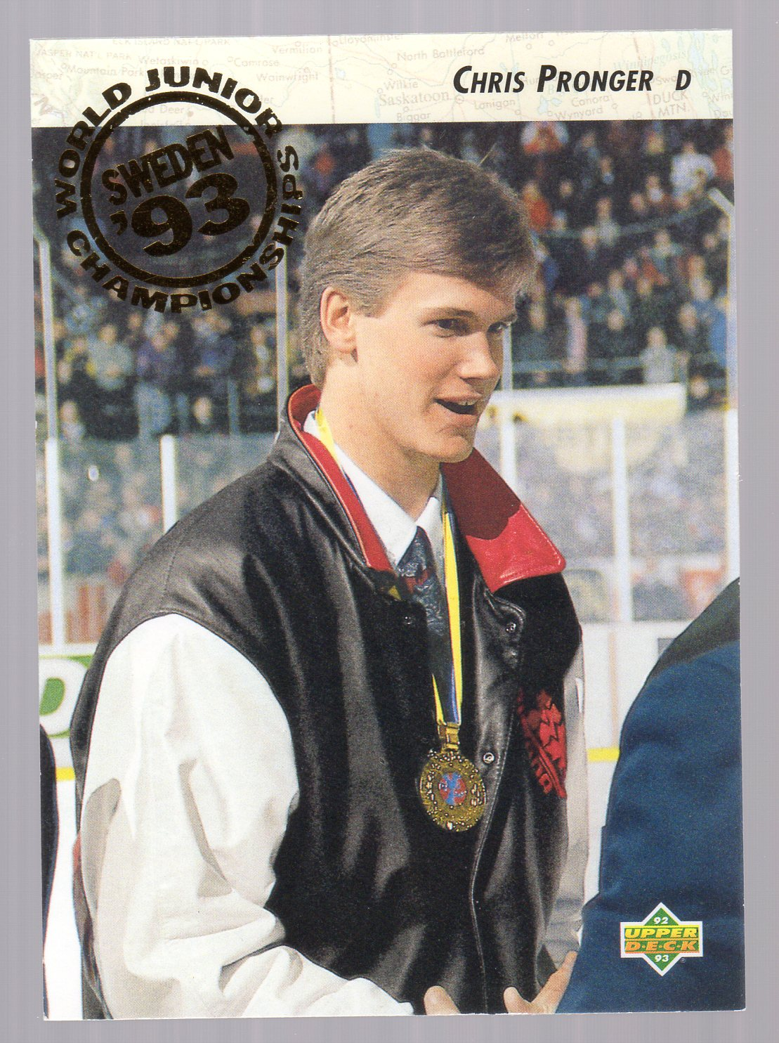 1992-93 Upper Deck #591 Chris Pronger RC