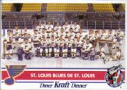 1992-93 Kraft #19 St. Louis Blues