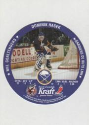 1992-93 Kraft #30 Dominik Hasek/Chris Terreri