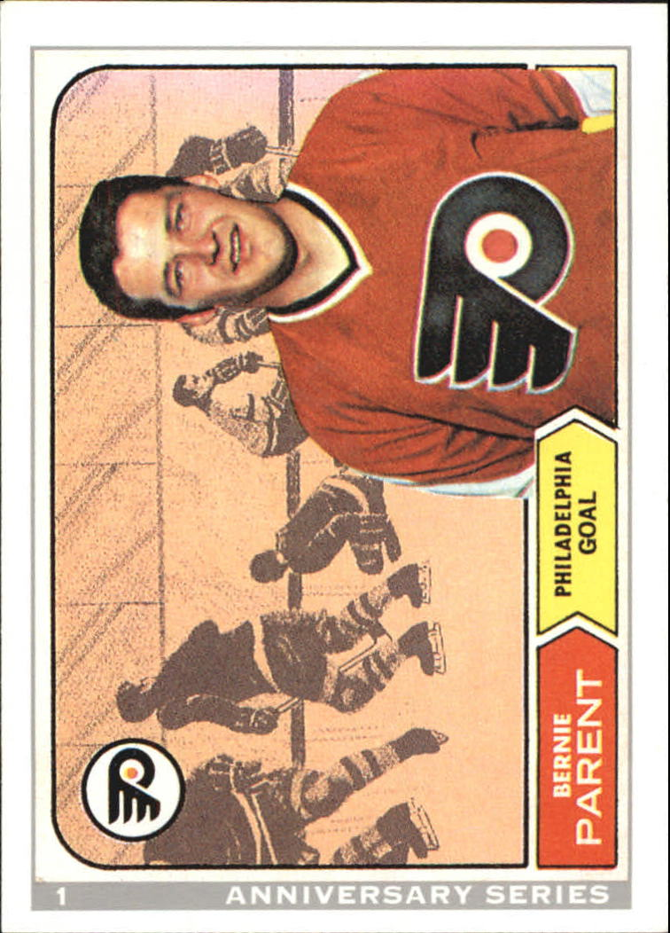 1992-93 O-Pee-Chee 25th Anniversary #1 Bernie Parent
