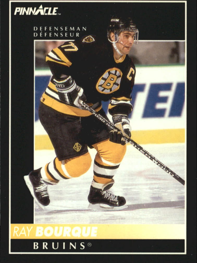1992-93 Pinnacle French #2 Ray Bourque