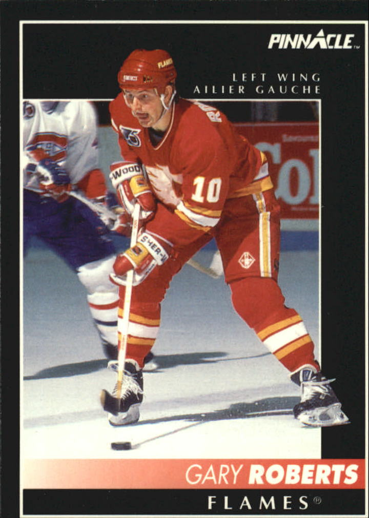 1992-93 Pinnacle French #3 Gary Roberts