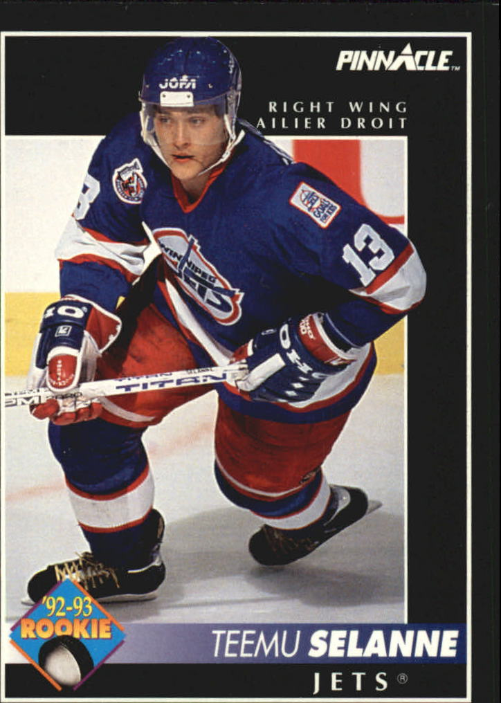 1992-93 Pinnacle French #406 Teemu Selanne