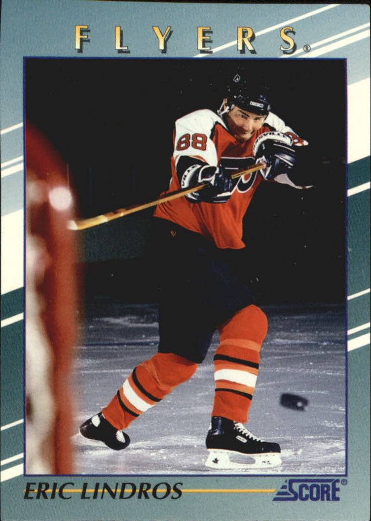 1992-93 Score Young Superstars #1 Eric Lindros
