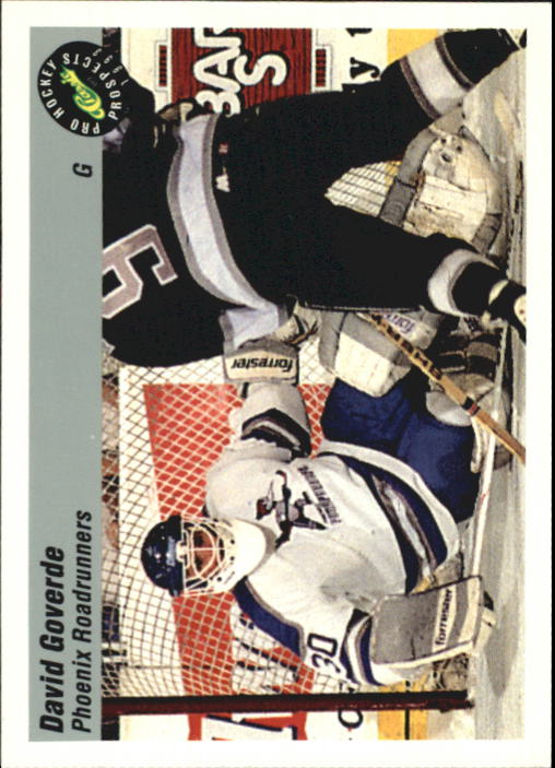 1993 Classic Pro Prospects #54 David Goverde