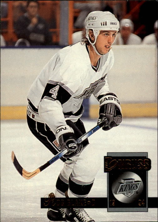 1993-94 Donruss #158 Rob Blake