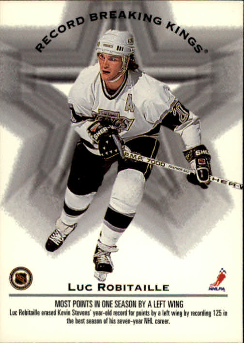 1993-94 Donruss #395 W.Gretzky/L.Robitaille RB