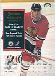 1993-94 Donruss #412 Keith Carney back image