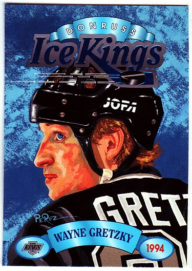1993-94 Donruss Ice Kings #4 Wayne Gretzky