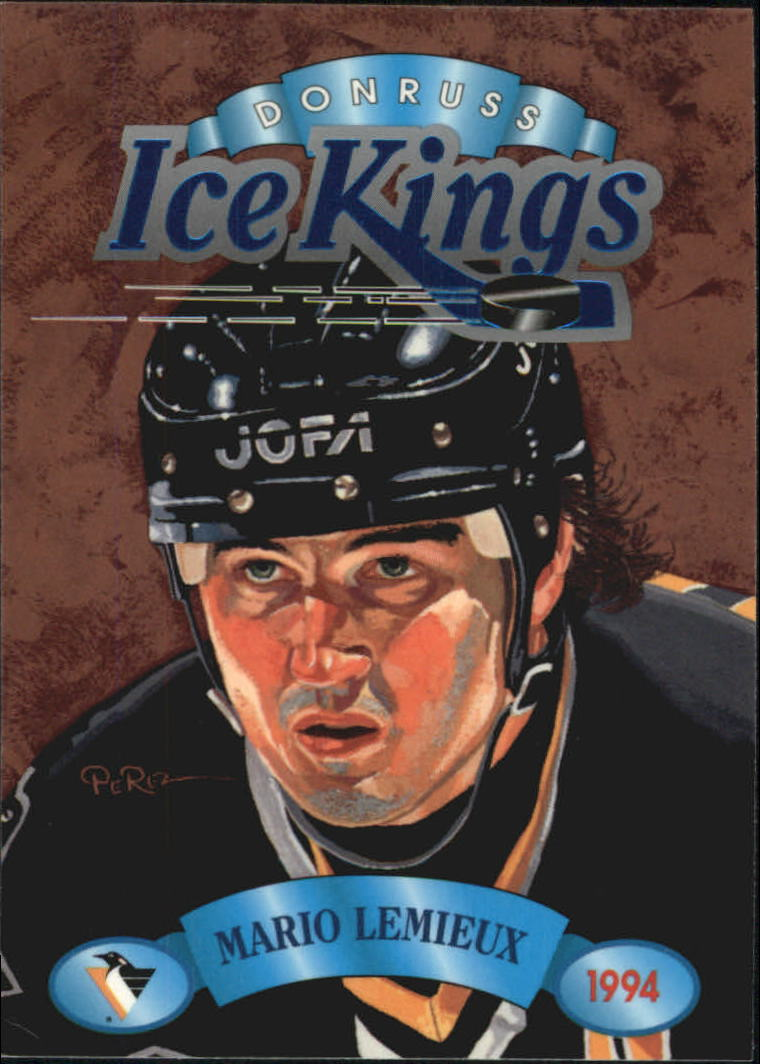 1993-94 Donruss Ice Kings #7 Mario Lemieux