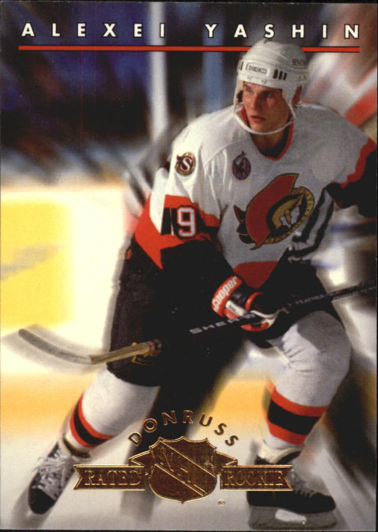 1993-94 Donruss Rated Rookies #7 Alexei Yashin
