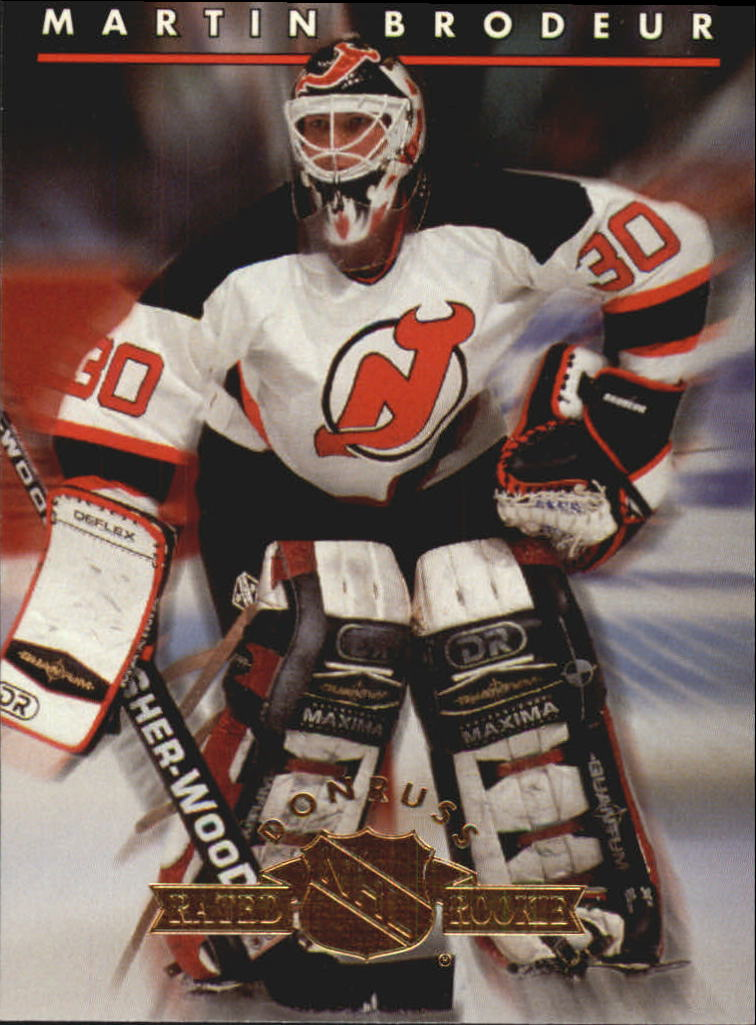 1993-94 Donruss Rated Rookies #10 Martin Brodeur
