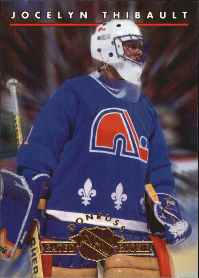 1993-94 Donruss Rated Rookies #11 Jocelyn Thibault