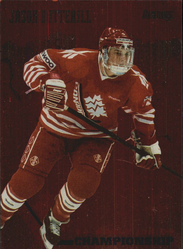 1993-94 Donruss Team Canada #4 Jason Botterill