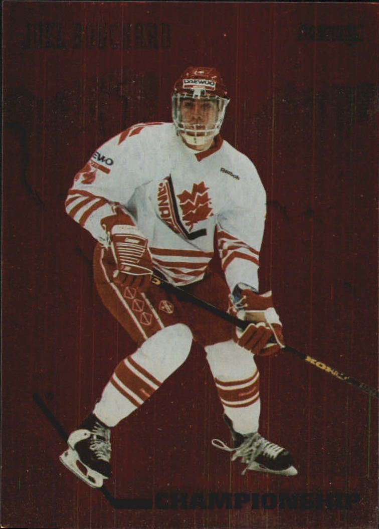 1993-94 Donruss Team Canada #5 Joel Bouchard