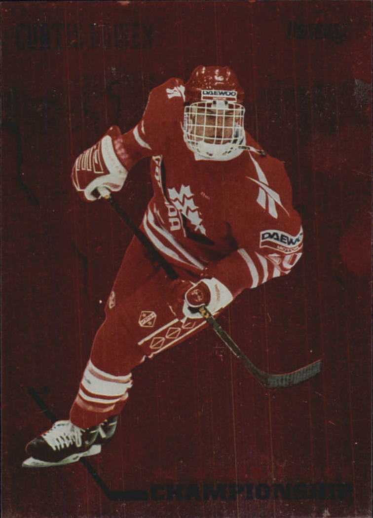 1993-94 Donruss Team Canada #6 Curtis Bowen