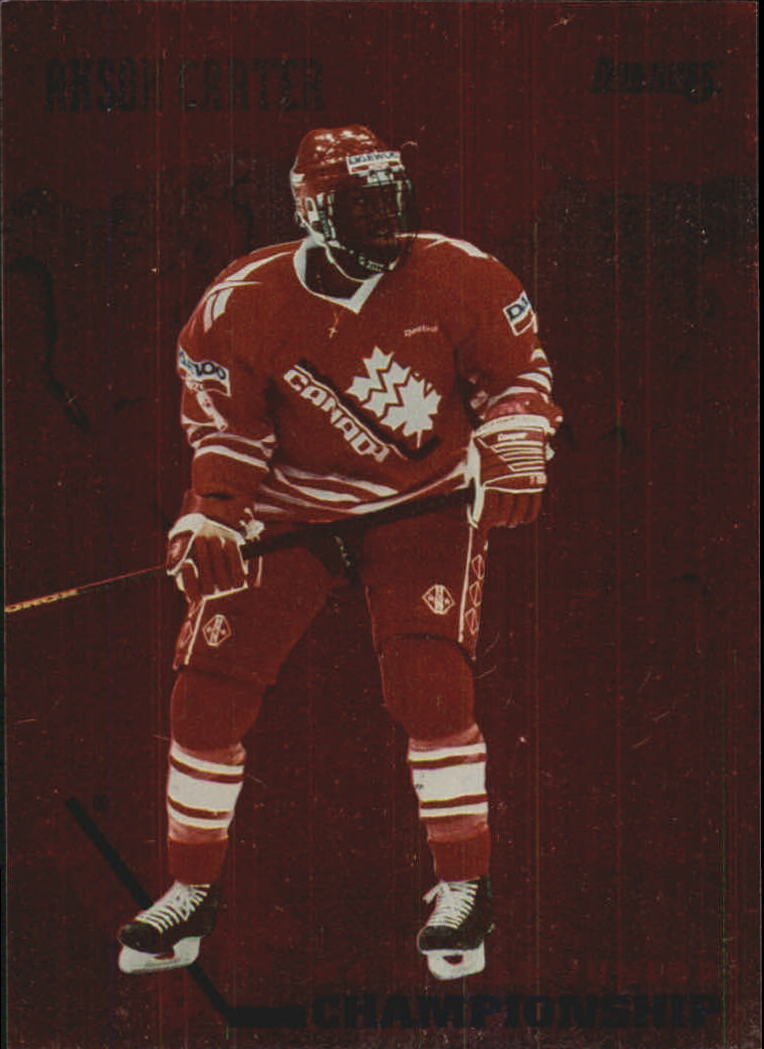 1993-94 Donruss Team Canada #7 Anson Carter