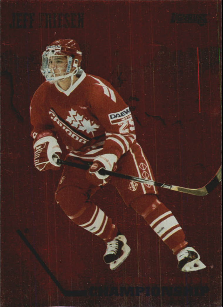 1993-94 Donruss Team Canada #11 Jeff Friesen