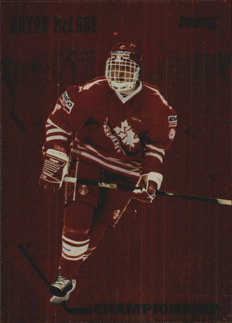 1993-94 Donruss Team Canada #16 Bryan McCabe