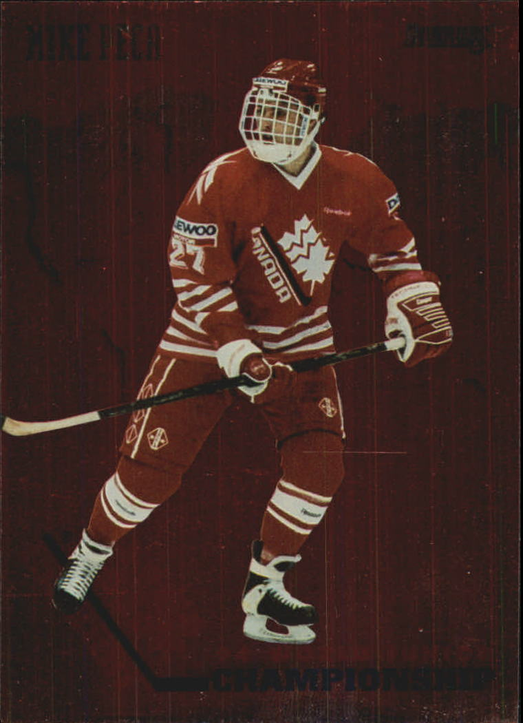 1993-94 Donruss Team Canada #18 Mike Peca
