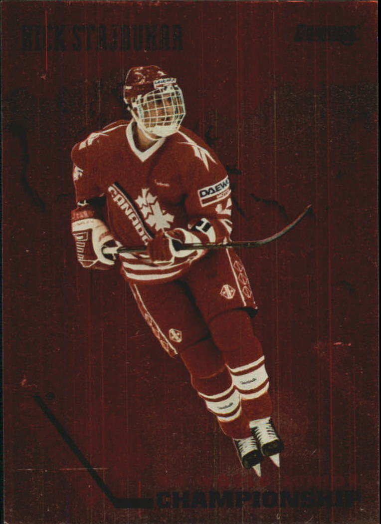 1993-94 Donruss Team Canada #19 Nick Stajduhar
