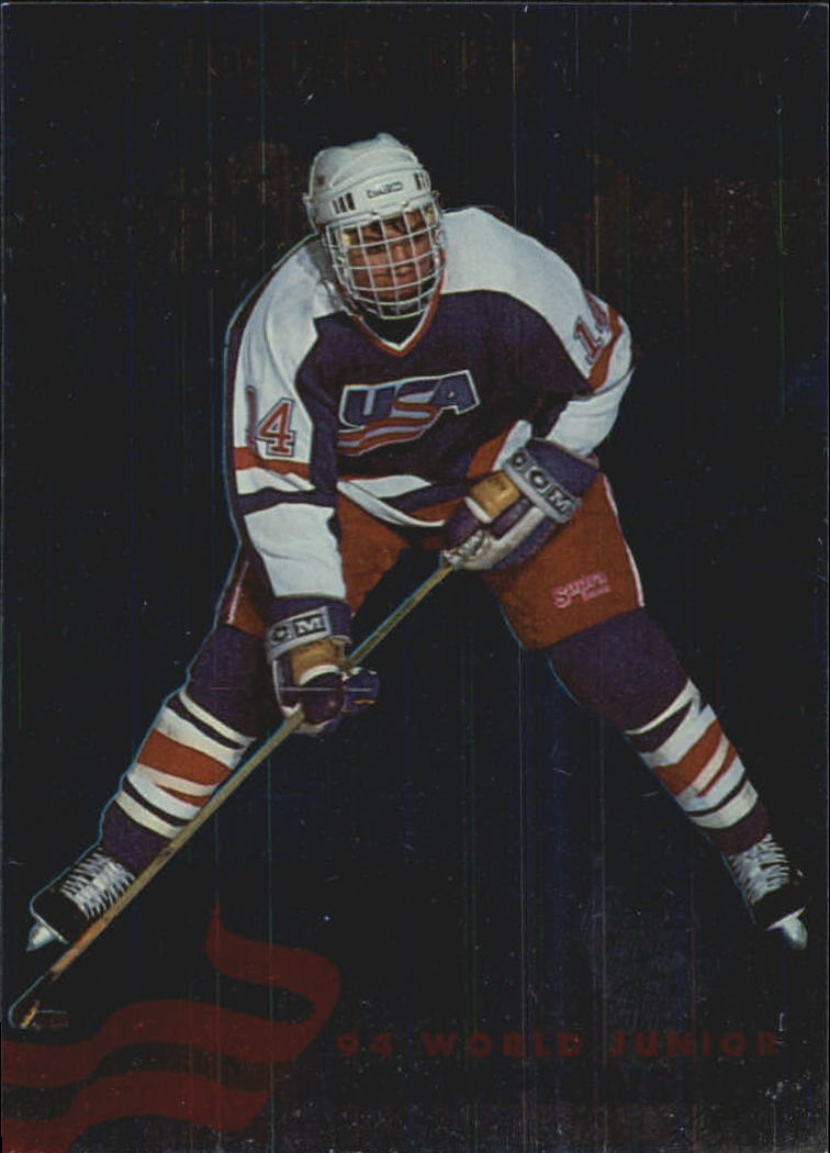 1993-94 Donruss Team USA #13 Jamie Langenbrunner