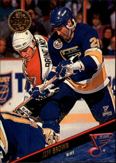 1993-94 Leaf #29 Jeff Brown
