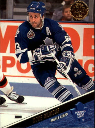 1993-94 Leaf #93 Doug Gilmour