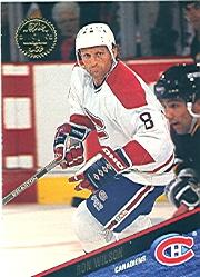 1993-94 Leaf #316 Ron Wilson