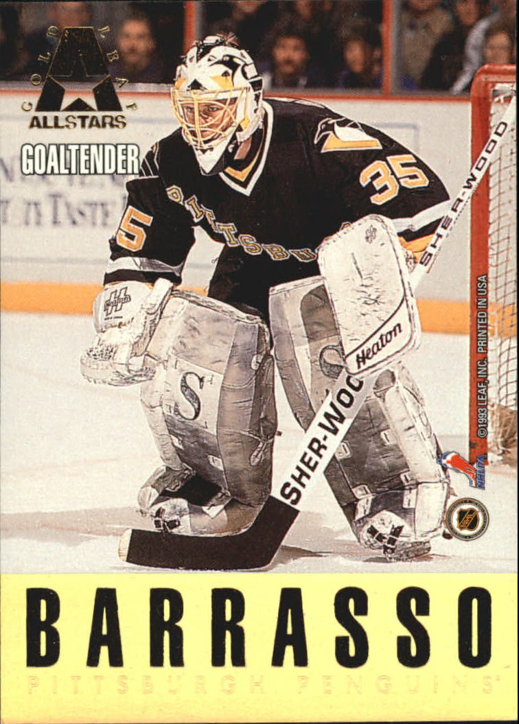 1993-94 Leaf Gold All-Stars #5 Patrick Roy/Tom Barrasso