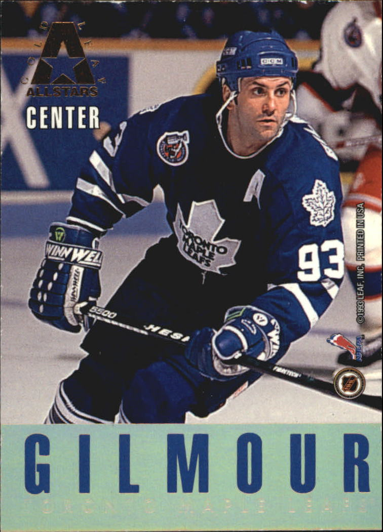 1993-94 Leaf Gold All-Stars #6 Wayne Gretzky/Doug Gilmour