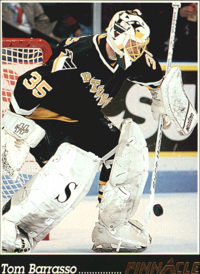 1993-94 Pinnacle #3 Tom Barrasso front image
