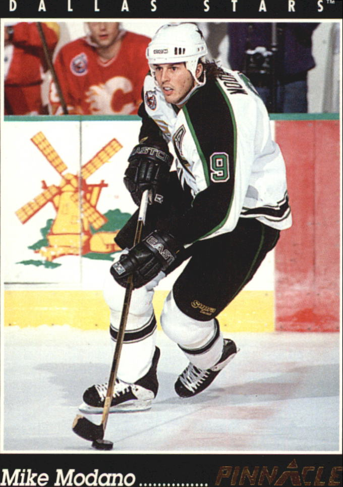 1993-94 Pinnacle #40 Mike Modano