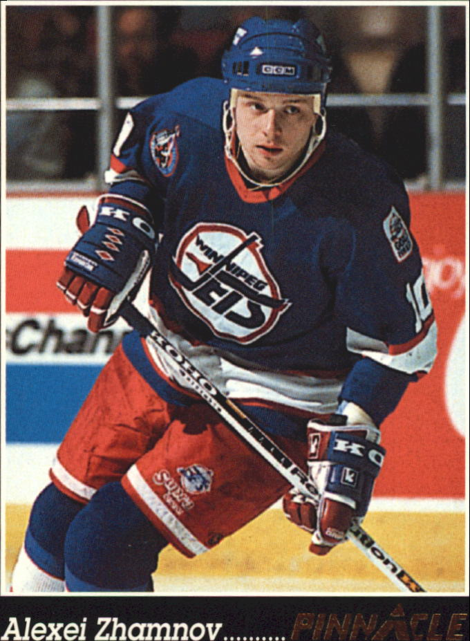 1993-94 Pinnacle #56 Alexei Zhamnov
