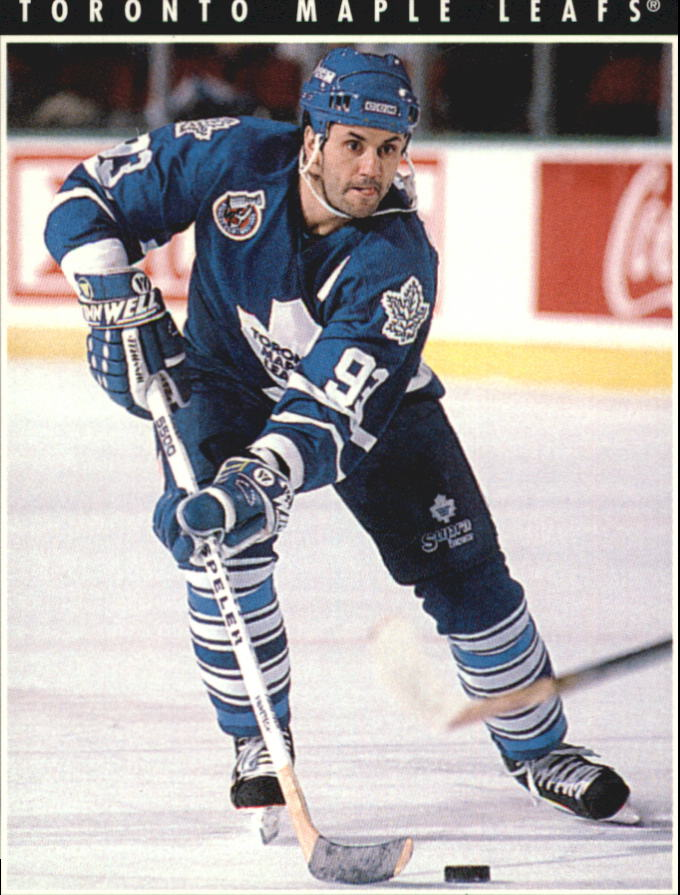 1993-94 Pinnacle #100 Doug Gilmour