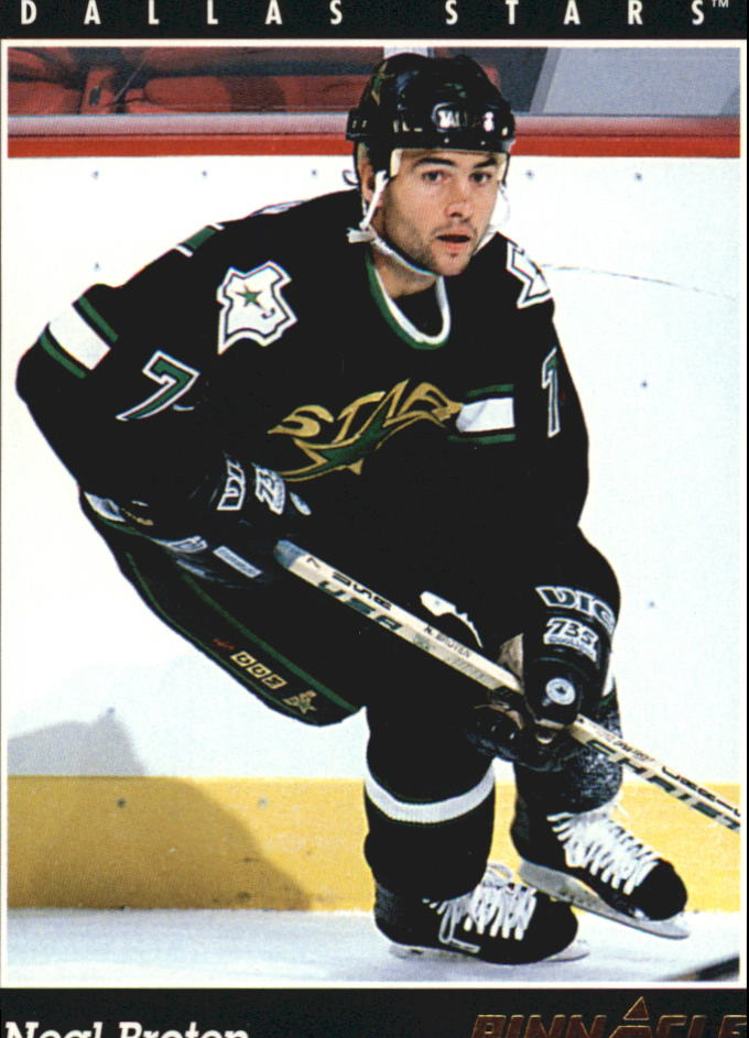1993-94 Pinnacle #334 Neal Broten