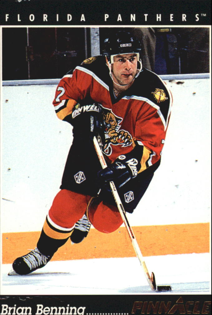 1993-94 Pinnacle #341 Brian Benning
