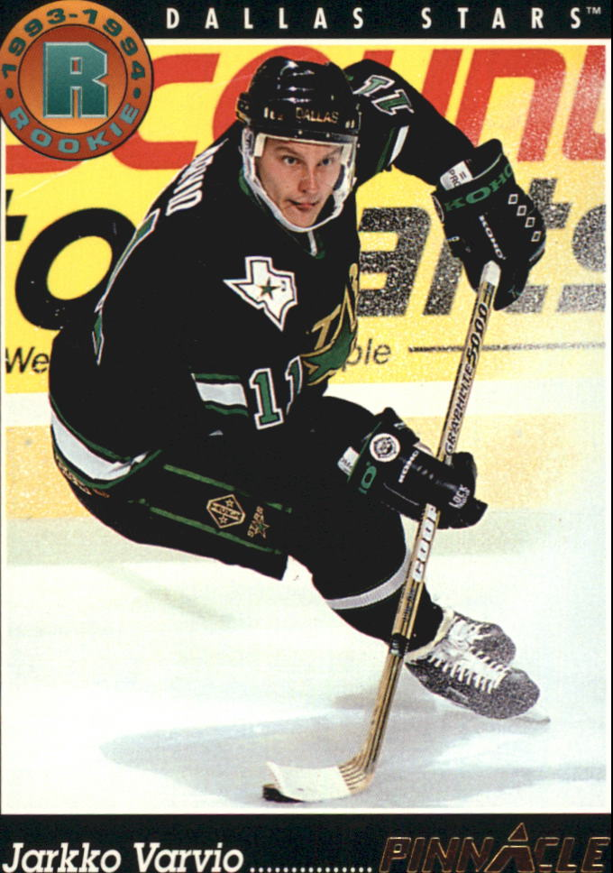 1993-94 Pinnacle #430 Jarkko Varvio