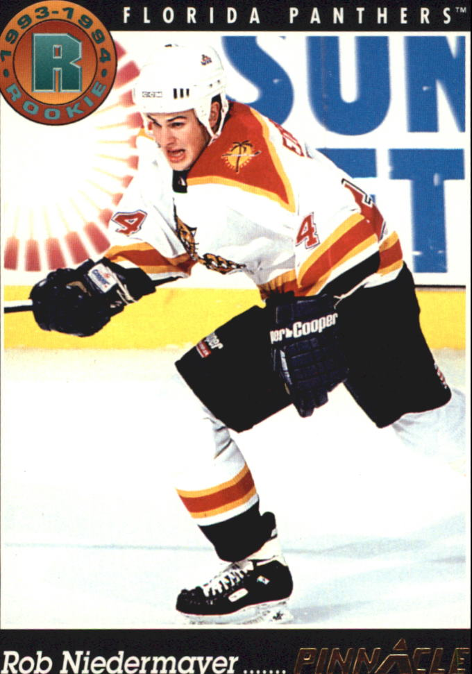 1993-94 Pinnacle #439 Rob Niedermayer