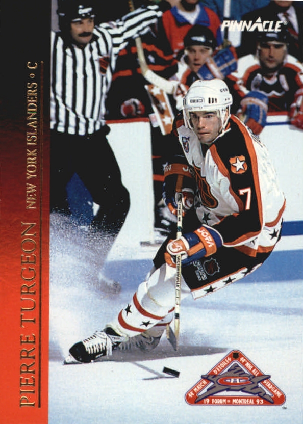 1993-94 Pinnacle All-Stars #5 Pierre Turgeon