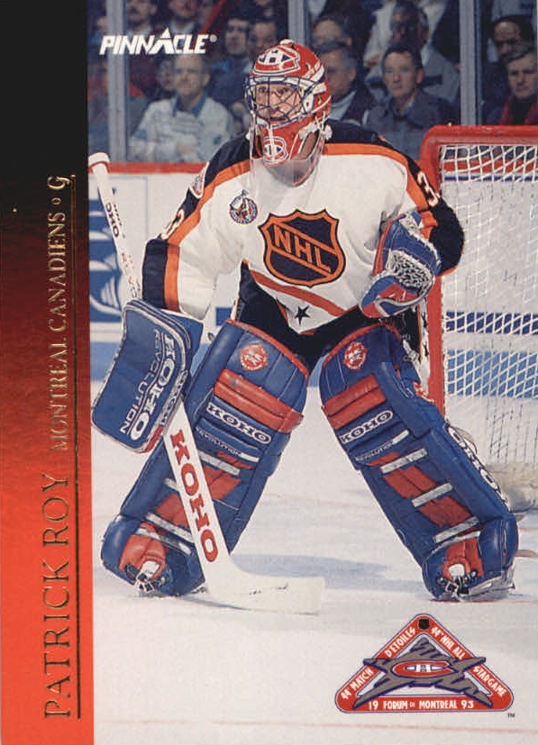 1993-94 Pinnacle All-Stars #18 Patrick Roy