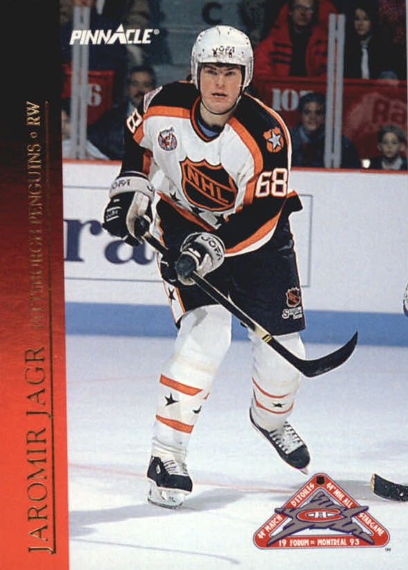 1993-94 Pinnacle All-Stars #20 Jaromir Jagr