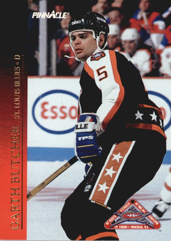 1993-94 Pinnacle All-Stars #24 Garth Butcher