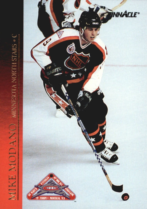 1993-94 Pinnacle All-Stars #28 Mike Modano