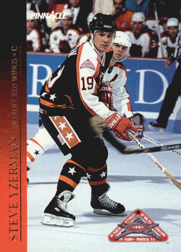 1993-94 Pinnacle All-Stars #36 Steve Yzerman front image